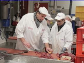 Préparation de viande