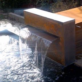 Fontaines, miroir d'eau, étangs