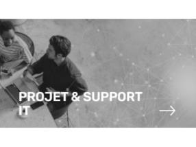 PROJET & SUPPORT INFORMATIQUE