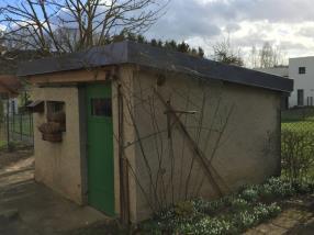 Rénovation d'une toiture sur cabane de jardin