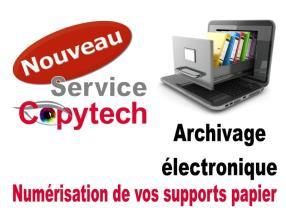 Archivage électronique Numérisation Scan Scanner PDF(A)