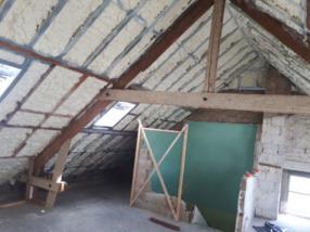 Isolation de la toiture