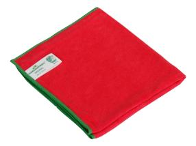 Lavette microfibres Greenspeed Original 40x40 cm rouge