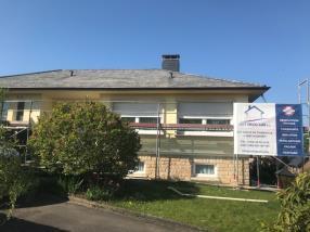 Rénovation de toiture en ardoise fibre ciment