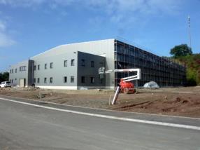Hall Industriel avec Bureaux