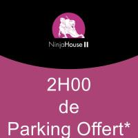 2H DE PARKING OFFERT - Parking Fort Wedell