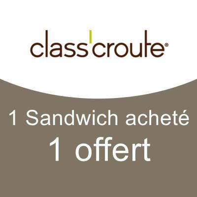 1 Sandwich acheté / 1 offert